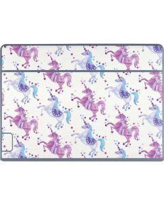 Purple Unicorns Galaxy Book Keyboard Folio 12in Skin