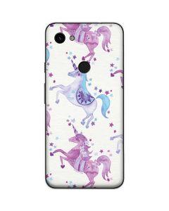 Purple Unicorns Google Pixel 3a Skin