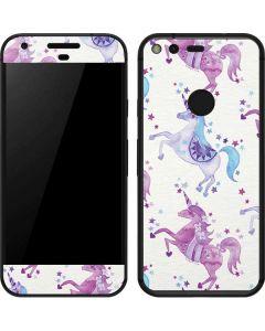 Purple Unicorns Google Pixel Skin