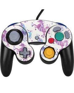 Purple Unicorns Nintendo GameCube Controller Skin