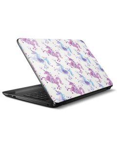 Purple Unicorns HP Notebook Skin