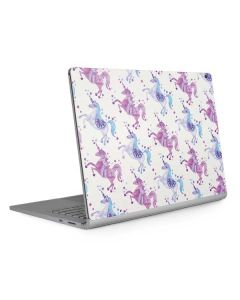 Purple Unicorns Surface Book 2 15in Skin