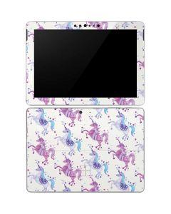 Purple Unicorns Surface Go Skin