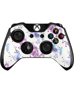 Purple Unicorns Xbox One Controller Skin