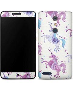 Purple Unicorns ZTE ZMAX Pro Skin