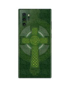 Radiant Cross - Green Galaxy Note 10 Plus Skin