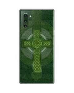 Radiant Cross - Green Galaxy Note 10 Skin