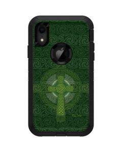 Radiant Cross - Green Otterbox Defender iPhone Skin
