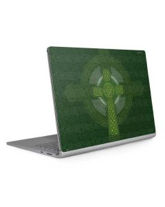 Radiant Cross - Green Surface Book 2 15in Skin