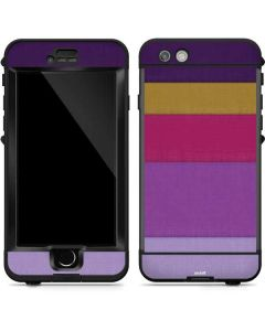 Radiant Orchid Color Block LifeProof Nuud iPhone Skin