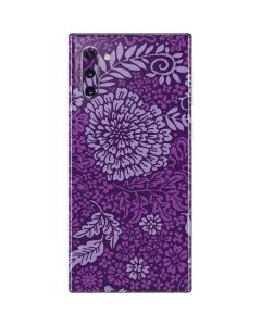 Radiant Orchid Floral Galaxy Note 10 Skin