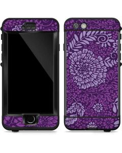 Radiant Orchid Floral LifeProof Nuud iPhone Skin