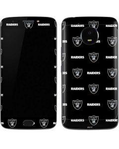 Raiders Blitz Series Moto E4 Plus Skin