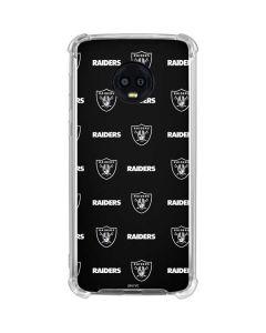 Raiders Blitz Series Moto G6 Clear Case