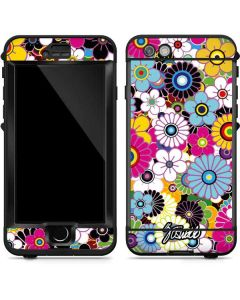 Rainbow Flowerbed LifeProof Nuud iPhone Skin