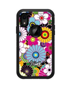 Rainbow Flowerbed Otterbox Defender iPhone Skin