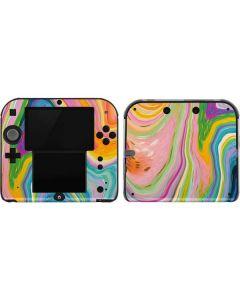 Rainbow Marble 2DS Skin