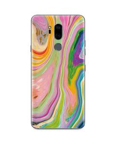 Rainbow Marble G7 ThinQ Skin
