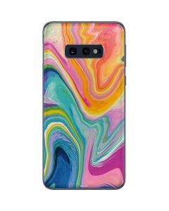 Rainbow Marble Galaxy S10e Skin