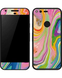 Rainbow Marble Google Pixel Skin