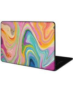 Rainbow Marble Google Pixelbook Go Skin