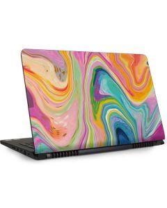Rainbow Marble Dell Inspiron Skin