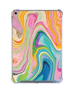 Rainbow Marble iPad 10.2in (2019-20) Clear Case