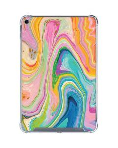 Rainbow Marble iPad Mini 5 (2019) Clear Case
