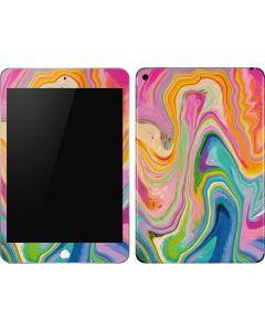 Rainbow Marble Apple iPad Mini Skin