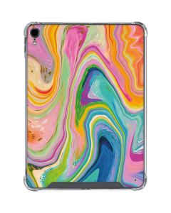 Rainbow Marble iPad Pro 11in (2018-19) Clear Case
