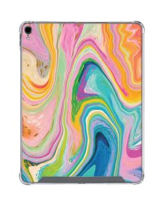 Rainbow Marble iPad Pro 12.9in (2018-19) Clear Case