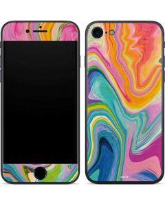 Rainbow Marble iPhone 7 Skin