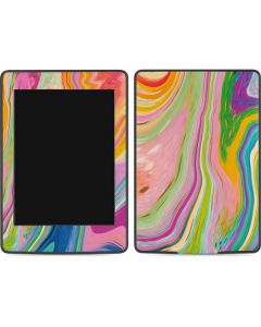 Rainbow Marble Amazon Kindle Skin