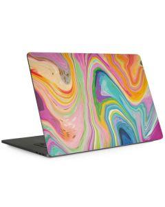 Rainbow Marble Apple MacBook Pro 15-inch Skin