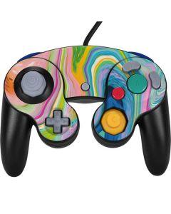 Rainbow Marble Nintendo GameCube Controller Skin