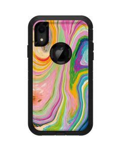 Rainbow Marble Otterbox Defender iPhone Skin