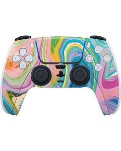 Rainbow Marble PS5 Controller Skin