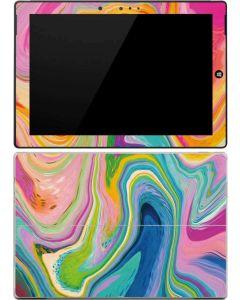 Rainbow Marble Surface 3 Skin