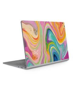 Rainbow Marble Surface Book 2 15in Skin