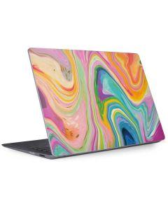 Rainbow Marble Surface Laptop 2 Skin