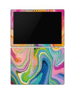 Rainbow Marble Surface Pro 6 Skin