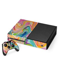 Rainbow Marble Xbox One Console and Controller Bundle Skin