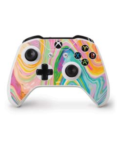 Rainbow Marble Xbox One S Controller Skin