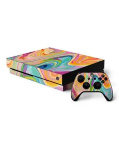Rainbow Marble Xbox One X Bundle Skin