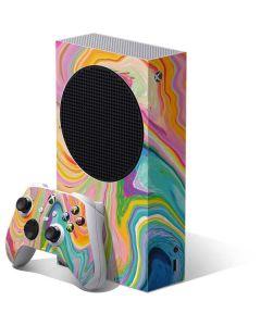 Rainbow Marble Xbox Series S Bundle Skin