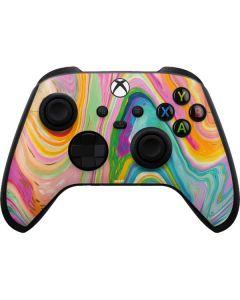 Rainbow Marble Xbox Series X Controller Skin