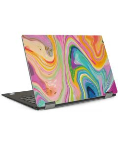 Rainbow Marble Dell XPS Skin
