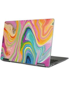 Rainbow Marble Yoga 710 14in Skin