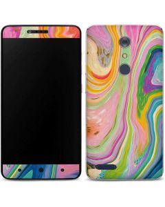 Rainbow Marble ZTE ZMAX Pro Skin