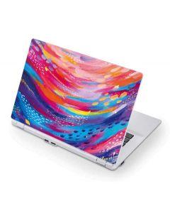 Rainbow Wave Brush Stroke Acer Chromebook Skin